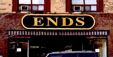 ends outside sign